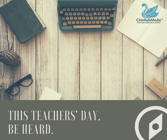 Calling All Teachers! Participate In The ChildSafeMedia Teachers' Day Contest 2017 And Win Excit