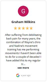Google Review Five star Graham
