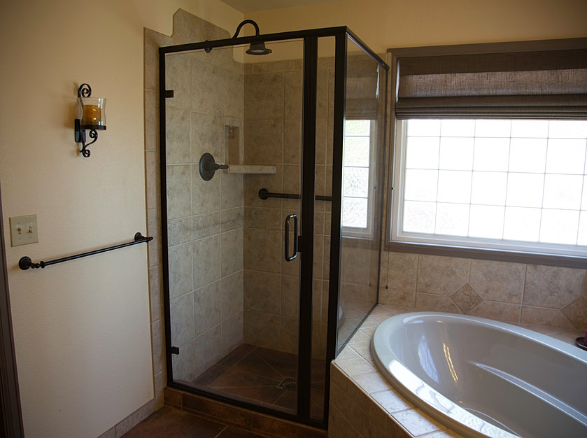 we install shower enclosures in leland southport and shallotte north carolina