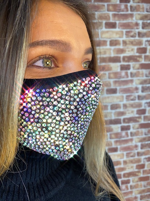 Lux Sparkly Face Mask