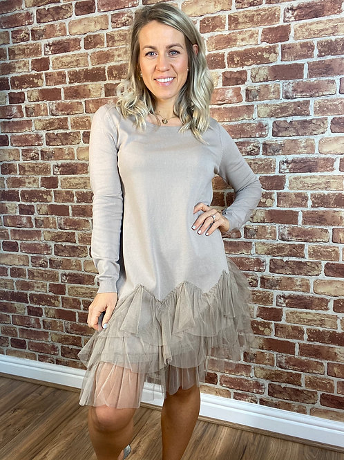 Tulle Tunic Dress