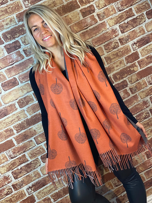 Cashmere Scarf- Tree of Life