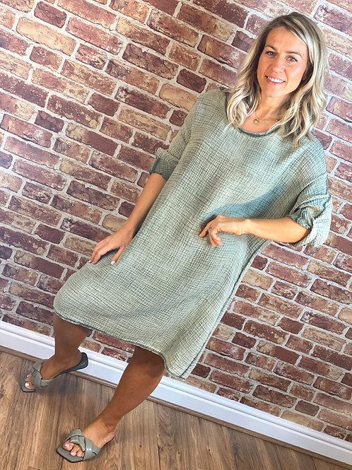 Cotton Waffle Dress / Top