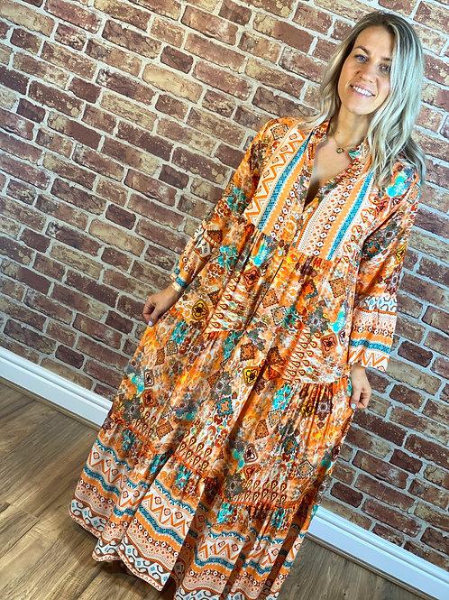 Colour Hippie dress