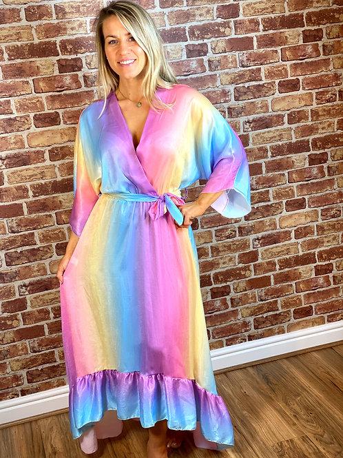 X Over Rainbow Dress
