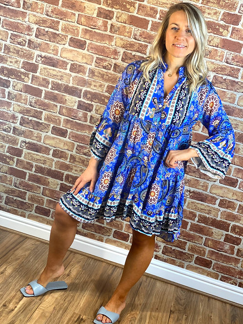 Indie Frill Dress
