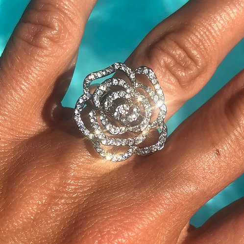 Bling Ring- Rose Sparkle