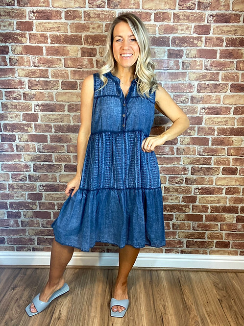 Cotton Summer Anglaise Dress