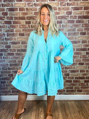 Lace Trim Dolly Dress