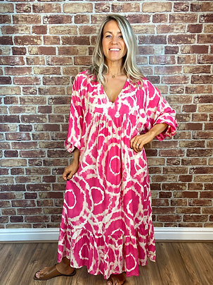 Giraffe Midi Dress