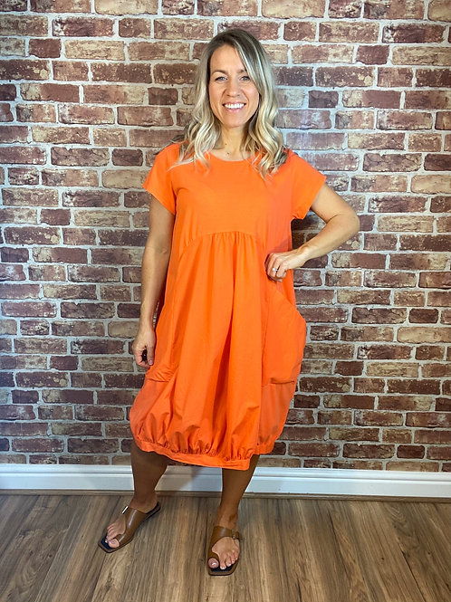 Tee Pocket Dress