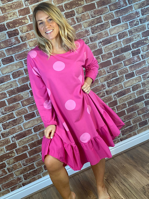 Polka Dot RaRa Dress