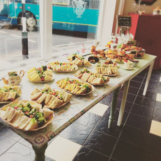 We cater for large events