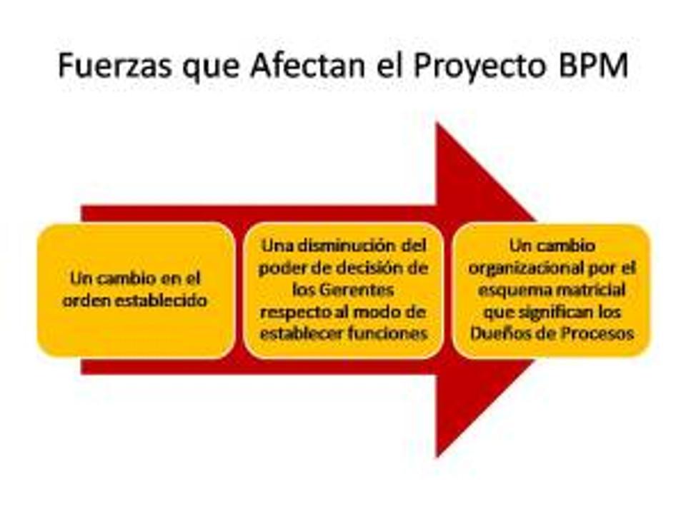 Fuerzas que Afectan el Proyecto BPM