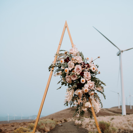 A WINDY DAY IN EASTERN WASHINGTON'S WINDMILLS | MATERNITY COUPLES SESSION | TIERNEY & TYLER