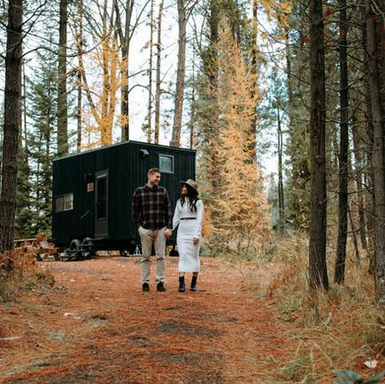 MT. ADAMS GETAWAY | COZY & ADVENTURE COUPLES SESSION | CYNTHIA+BEN