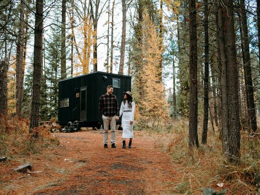 COZY & ADVENTURE COUPLES SESSION | MT. ADAMS GETAWAY | CYNTHIA+BEN