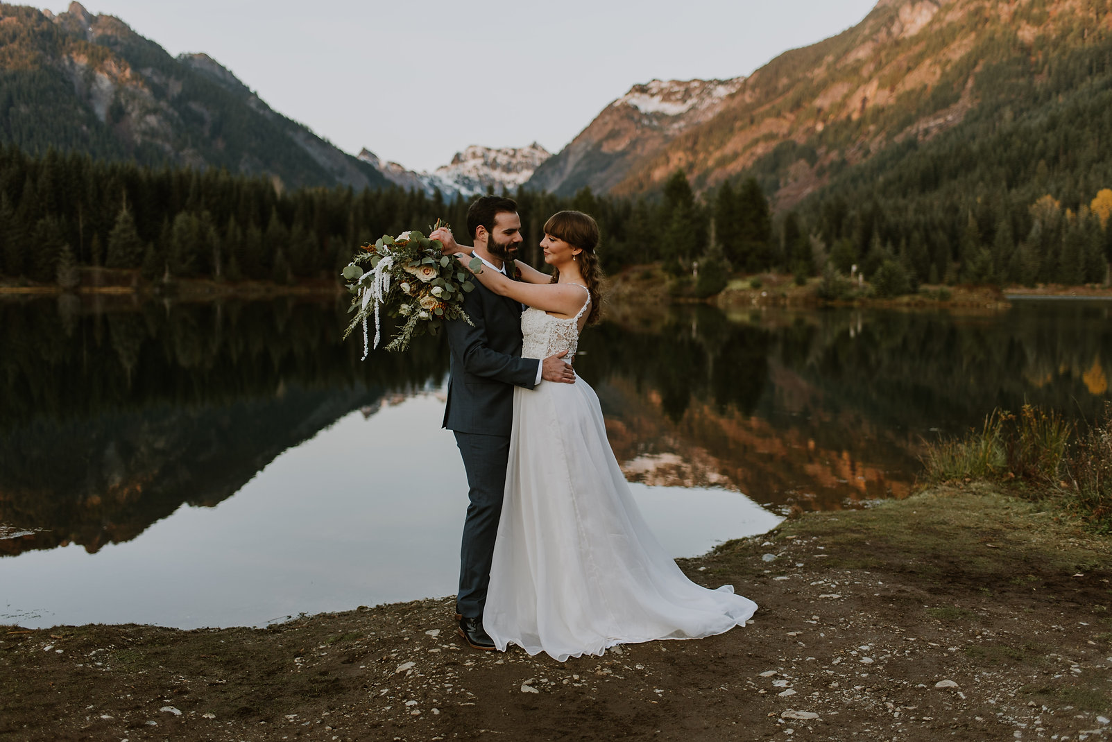 Snowqualmie Intimate Wedding