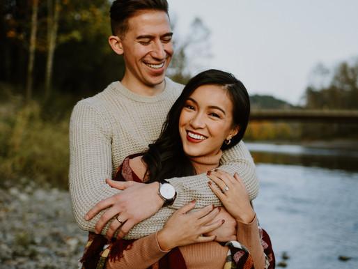 COUPLES SESSION | NORTH BEND | JOY+ZACH