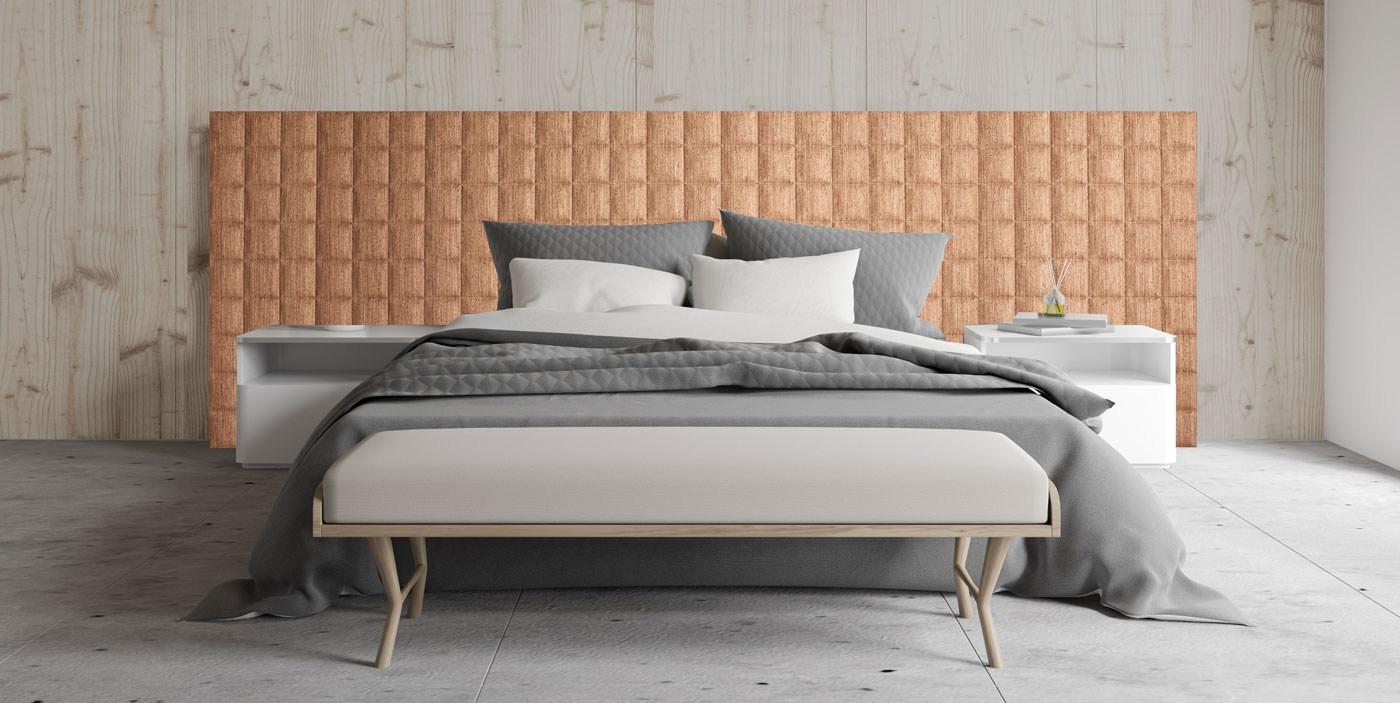 Bed Bett Cork Panels
