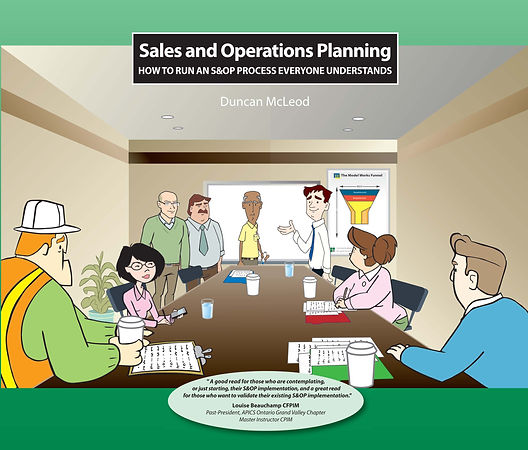 Sales and Operations Planning Book Duncan McLeod