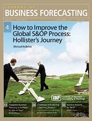 S&OP Executive Involvement:  JBF article by Duncan McLeod