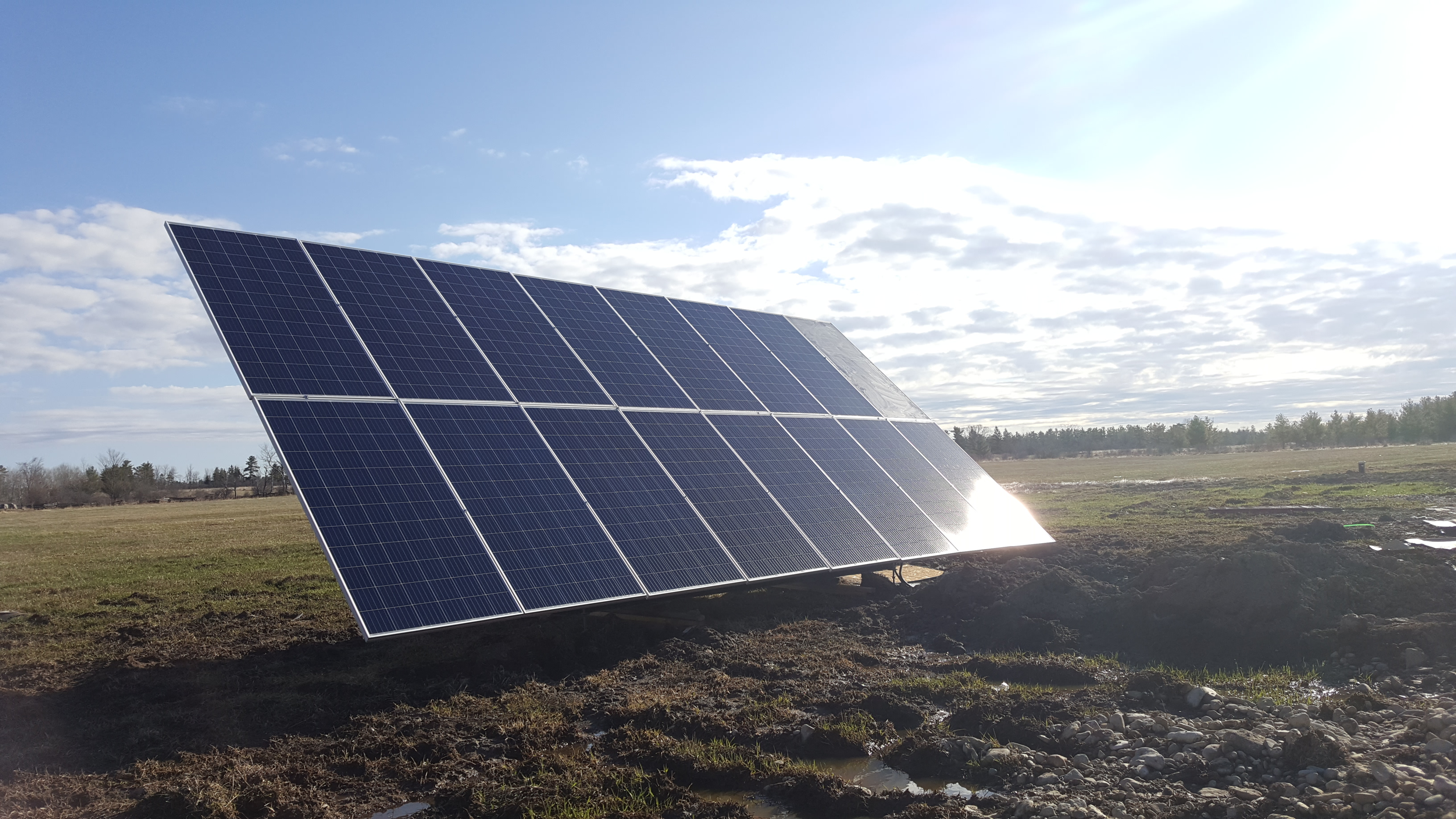 Manitoulin Ground Mount Solar