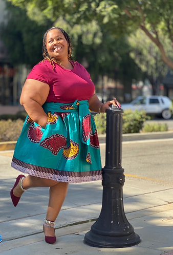 Asiama Midi Skirt