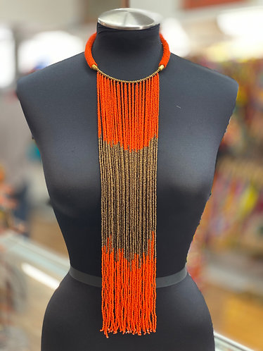 Chioma Mixed Beaded Necklace