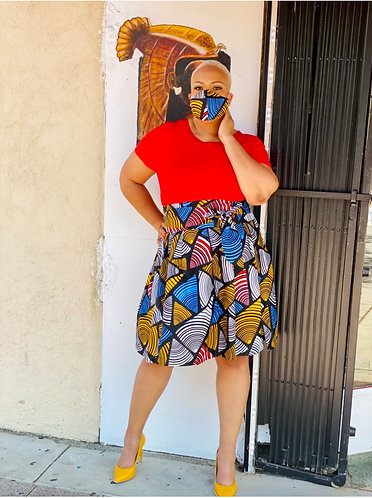 Anago Midi Skirt