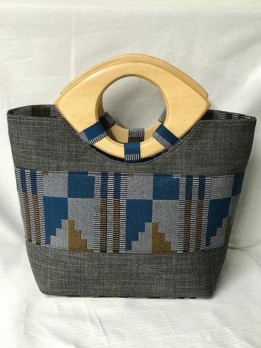 Basie Mixed Print  Handbag