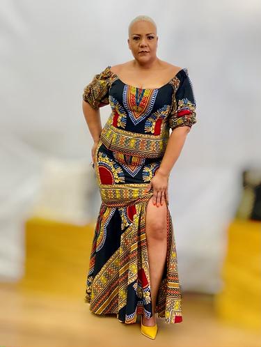 Asou Skirt Set