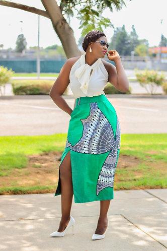 Aziba Pencil Skirt