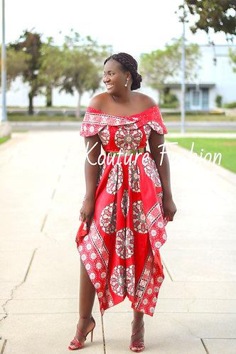 Coquette Asymmetrical Dress