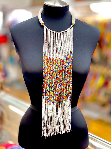 ioma Long beaded necklace