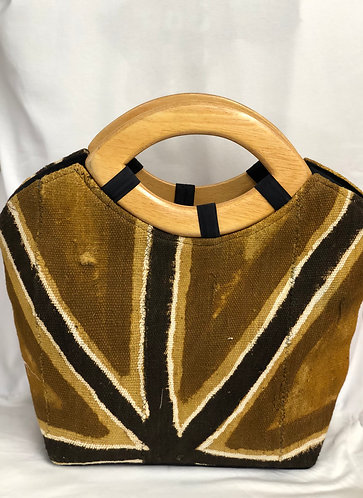 Vaqa Mud Cloth   Handbag