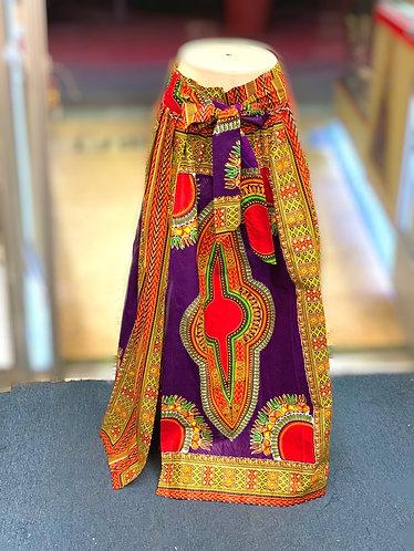 Kiki Purple Maxi Skirt