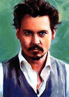 Johnny Depp 3D lenticular poster wall ar