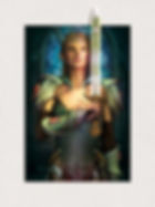 Zelda 5D 3D lenticular poster wall are d
