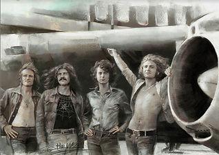 Led Zeppelin 3D lenticular poster wall a