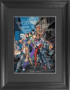 Batman Villians 3D lenticular poster wal
