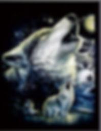 3D Flip Wolf Pack 3D lenticular poster w