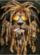 Pot Head Lion 3D lenticular poster wall