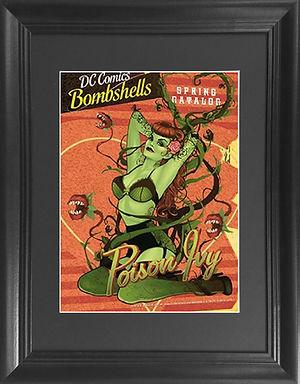 Poison Ivy 3D lenticular poster wall art