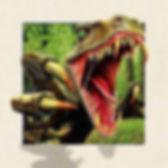 5D Dinosaur 3D lenticular poster wall ar