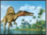 3D Flip Dino Changing 3D lenticular post