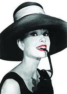 Audrey Hepburn 3D lenticular poster wall