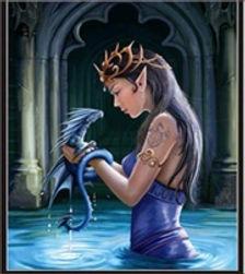 3D Flip Dragon Princess 3D lenticular po