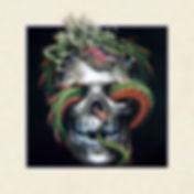 5D Skull Dragon 3D lenticular poster wal