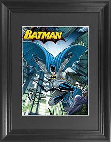 Batman Blue 3D lenticular poster wall ar